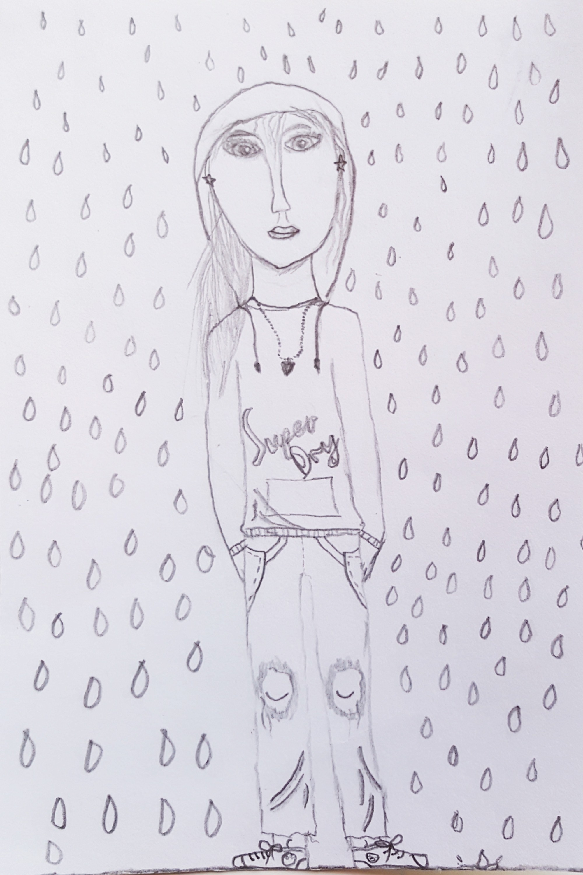 Rain by Hannah 5th Class